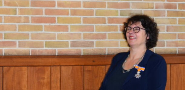 Lintje voor Margit van der Steen